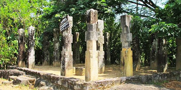 Embekke ambalama ruin