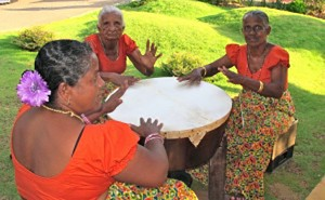 Drumming to herald the New Year