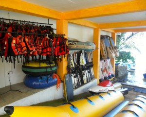 All set for watersports