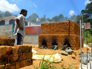 Village brick kiln