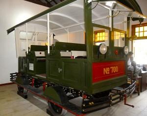Rail musueum petrol rail car
