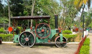 Vintage steamroller